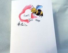 Honey Bee Mine note cards and art