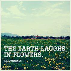 ee cummings (Happy Earth Day)