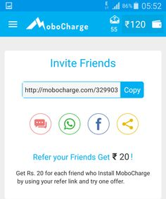 MoboCharge Refer Dashboard