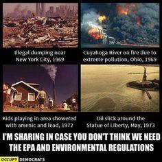 EPA is on danger from a Trump presidency.