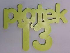 Piątek 13-napis na ścianę. w vitro4u na DaWanda.com