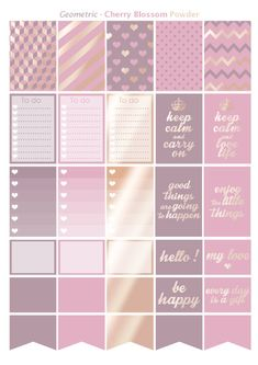 Printable stickers theme geomectric style black rose gold designed your planner or happy planner with colors pink, cherry blossom, gold rose. Header, checklist, clip art, boxes, half boxes and clipart for more custom ! ;) Purchase and print unlimited copies as you want to designed