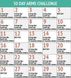 30 Day Challenge, Arms #GraceConnected #Fitness