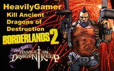 Borderlands 2-Destroy Ancient Dragons of Destruction Raid Boss Battle (S...