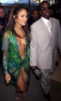 Jennifer Lopez and Sean Combs together 1999-2001.