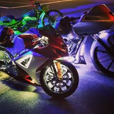 The brightest lights on earth are done right here on the east coast Sound of Tri-State - Morton with LEDGlow Lighting neon underbody kits! #soundoftristate #ledneons #glowlights #harley #harleydavidson #hawg #hog #brightlights