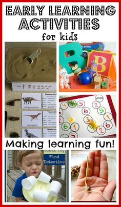 Early Learning Activities for Kids ~ Growing A Jeweled Rose