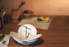 Porcelain fruit bowl PETALI by Produzione Privata design Michele De Lucchi