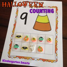 Halloween and Fall Counting FREEBIE!