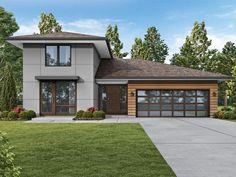 034H-0443: Unique House Plan Features an ADU & a Courtyard; 2947 sf