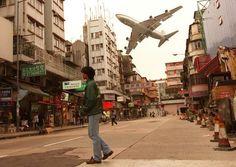 香港的旧飞机场 El antiguo aeropuerto de Hong Kong (Kai Tak) - Chinalati