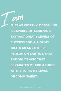 Morning mantra. Affirmation. Inspirational quote.