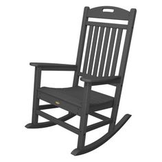 Trex Outdoor Furniture Recycled Plastic Yacht Club Rocking Chair | Hayneedle