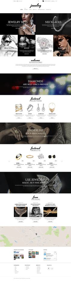 Template 52253 - Jewelry Store  Responsive Shopify  Theme
