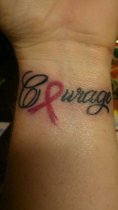 Breast Cancer Tattoo