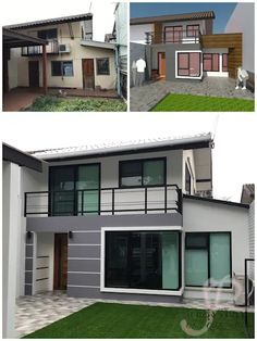 5 โปรเจ็กต์เจ๋งๆ กับไอเดียรีโนเวท before and after | homify | homify Shed, Outdoor Structures, Mansions, House Styles, Outdoor Decor, Houses, Home Decor, Homes, Decoration Home