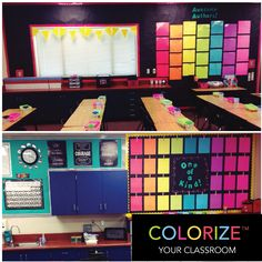 Now THAT'S how you #ColorizeYourClassroom! This week's Teacher Spotlight is the creative and talented 3rd Grade Teacher, Cara Ellis, from Miller Elementary in California. 'LIKE' to thank Cara for sharing her colorful classroom. Don't forget to enter to WIN and create your own amazing space with Astrobrights Papers at www.colorizeyourclassroom.com