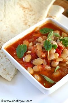 Fresh Cranberry Beans Recipe | Cranberry Bean and tomato stew