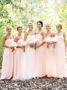 Bridesmaid Dresses (@Sarah Chintomby Stewart & @Melissa Spivak Klindtworth ) I love the color & style- since my dress has sleeves I think you two in sleeveless would be pretty...