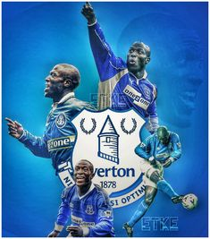 Kevin Campbell Everton ETKE Kevin Campbell, Everton Fc, Graphic Art, Football, War, Wallpapers, History, Dogs, Sports