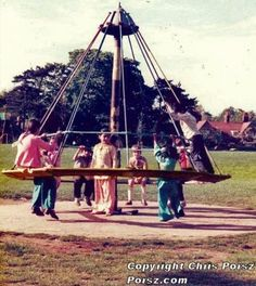 Witches Hat, no longer allowed in the play park! But what great fun it was, getting it to spin as fast as you could, make it tip and do the bumps,