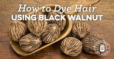 Learn how to use dried black walnut to create a natural hair dye at home. Dyed Natural Hair, Natural Hair Styles, Diy Beauty, Beauty Hacks, Beauty Tips, Diy Hair Care, The Beauty Department, Home Treatment, Homemade Beauty Products