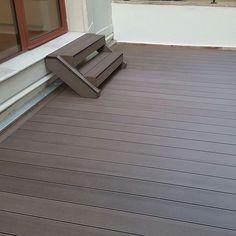 Deck compozit importat de Decolandia Tile Floor, House Design, Flooring, Decking, Exterior, Bamboo, Tile Flooring, Wood Flooring, Outdoor Rooms