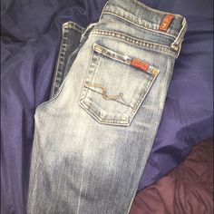 Seven for all mankind jeans Comfy great fit and medium wash. 7 for all Mankind Jeans Boot Cut
