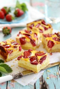 Strawberry Cakes, Cookie Recipes, French Toast, Recipies, Cheesecake, Food And Drink, Sweets, Cookies, Baking