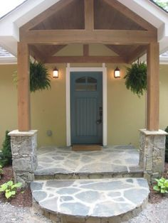 Iwant this front entrance~so inviting