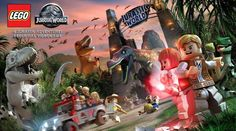 Welcome to LEGO Jurassic World in a New Trailer for the Upcoming Game Jurassic Park 3 Lego Jurassic Park, Lego Jurassic World Videos, Jurassic World Trailer, Lego Jurassic World Dinosaurs, Game Jurassic World, Baby Dinosaurs, Wii U, Legos, Xbox One