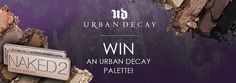 We're giving away two 'Urban Decay Naked 2 Palettes' Beauty Ideas, Beauty Tips, Beauty Hacks, Make Me Up, How To Make, Crossed Fingers, Giving, Dessert Ideas, Crochet Ideas
