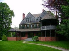 McKim, Mead & White's Isaac Bell Jr. House Newport RI