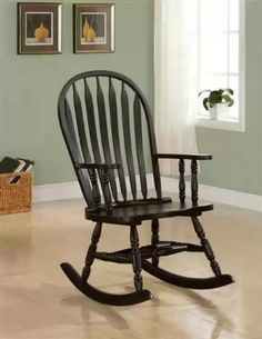 (CLICK IMAGE TWICE FOR UPDATED PRICING AND INFO) #rocking #chairs #rockingchairs #patiochairs # patiorockers #outdoor # outdoor  Coaster Wooden Rocking Chair in Cappuccino Finish « zPatioFurniture.com