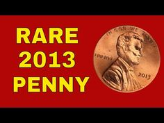 Some 2013 pennies are very rare and are worth money. We will give you the most recent 2013 penny value! Thank You for watching and as always remember to chec. Valuable Pennies, Rare Pennies, Valuable Coins, Penny Values, Old Coins Worth Money, English Coins, Dividend Investing, Error Coins, Coin Worth