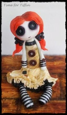 Raggy Doll  - Cake by Time for Tiffin