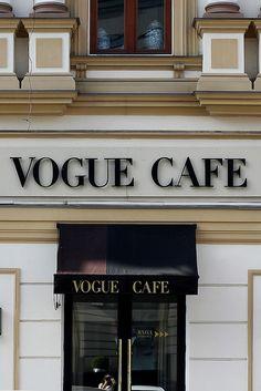 Vogue cafe, Moscow