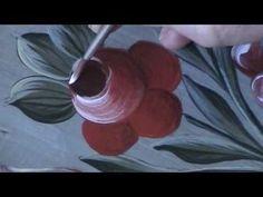 Bauernmalerei Video - dekoratives Malen DVD, Online Malkurs