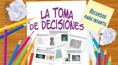 Recursos para infantil: Fichas para mejorar la toma de decisiones.