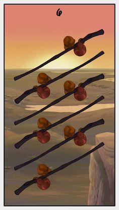 Six of Wands