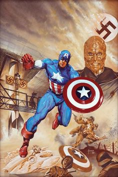 Captain America | Illustrator: Joe Jusko