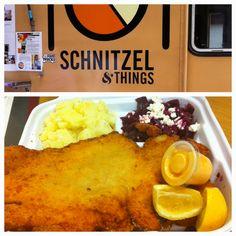 Chicken Schnitzel from Schnitzel & Things food truck (NYC) ^ar2