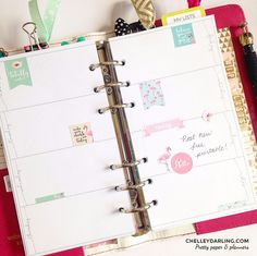 ♡ Free Planner Printable: Whimsical Week On Two Pages