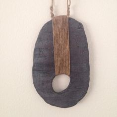 amy dov (@amydovstudio) : stoneware hanging sculpture