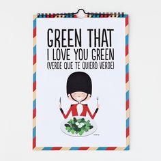 Lorca también recitaba a lo #Superbritánico: Green that I love you green (Verde que te quiero verde).
