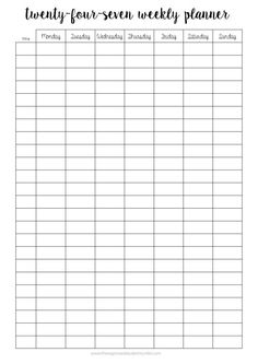 The Organised Student — Free Printables! Printables are the perfect way to stay organised without breaking the bank. I love making and using them myself, and so I hope you find them useful for studying, your day-to-day life or even both. Study Timetable Template, Study Schedule Template, Checklist Template, Planning School, School Planner, College Planner, College Tips, College Organization, Planner Organization