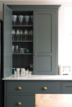 12 Farrow and Ball Kitchen Cabinet Colors For The Perfect English Kitchen - laurel home. Loads of color ideas