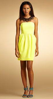 Lemon Dress - feel the summer!