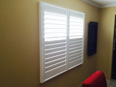 Split Tilt plantation shutters available at Budget Blinds...so many options, custom made for your windows.