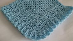 Crochet Baby Blanket / Afghan Blue by HandmadeByHallien on Etsy